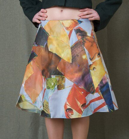 mad patch skirt